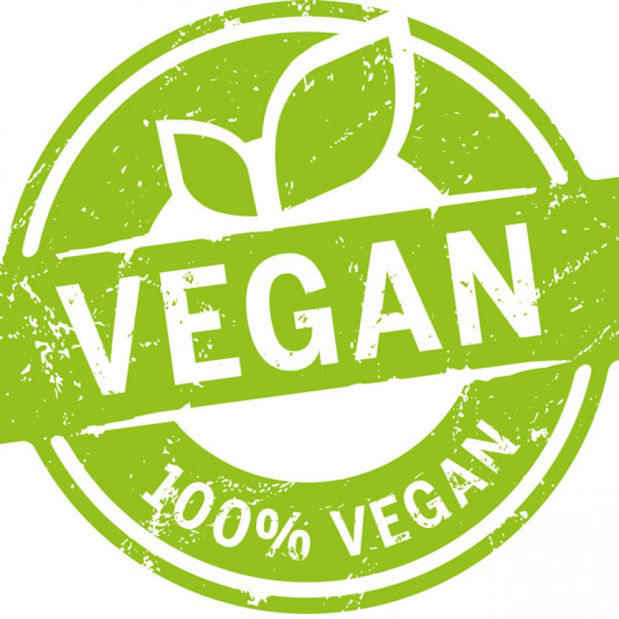 Sineglu e la dieta vegana